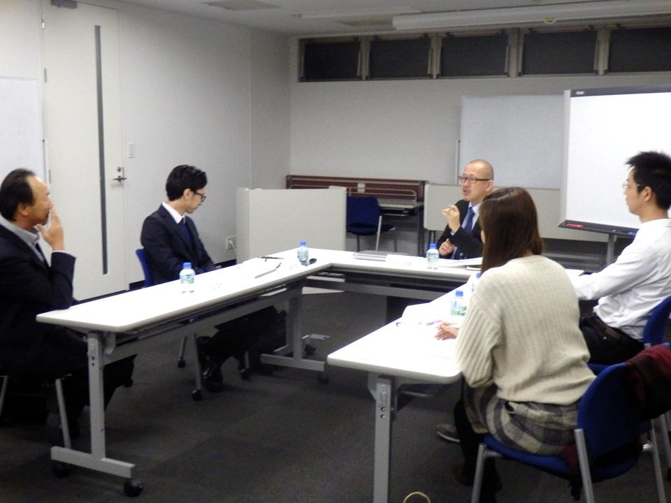 代表吉田とのインタラクティブな研修です